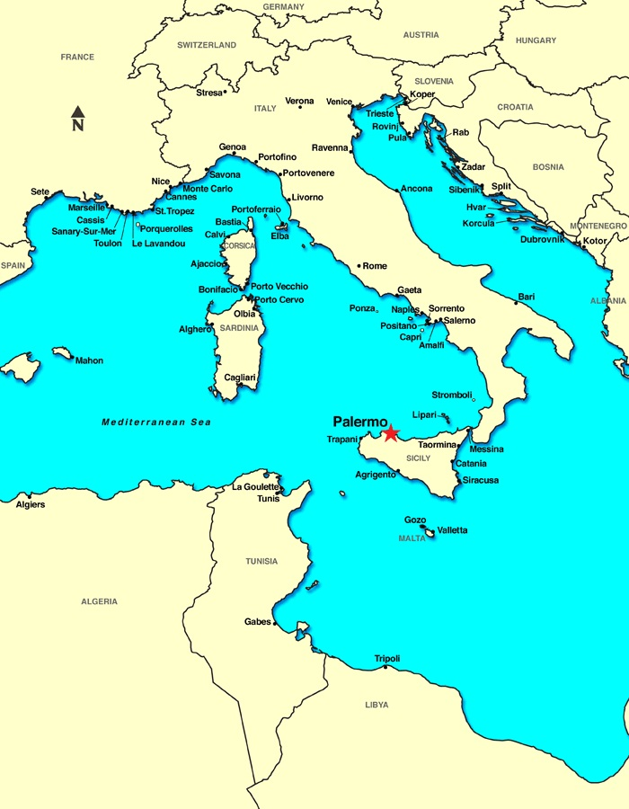 sicilija mapa Sicilija sicilija mapa